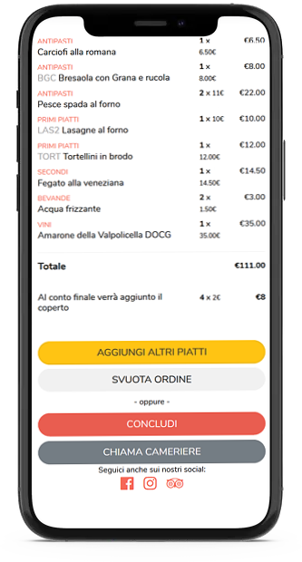 Come ordinare con il Menu Digitale di Forkmenu
