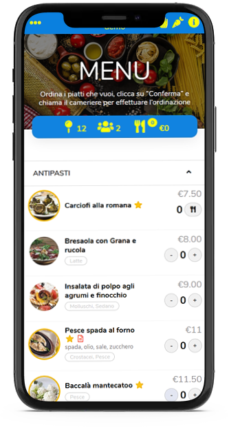 Come personalizzare il Menu Digitale di Forkmenu